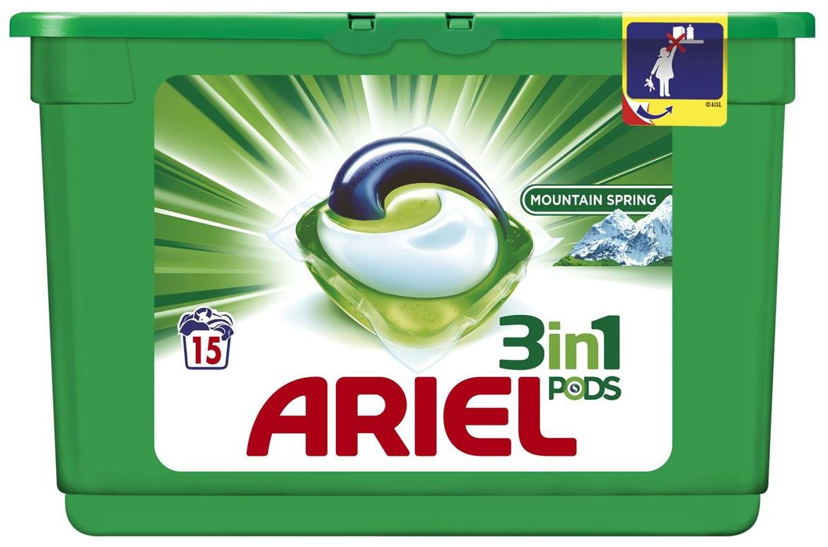 Tablety gelové Ariel mountain 14ks -